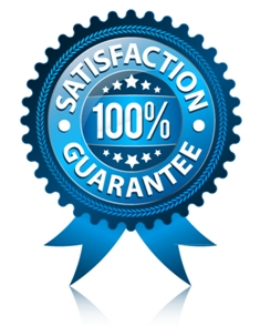 100% Satisfaction Guarantee seal